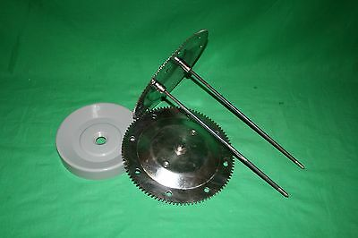 Ronco Showtime Rotisserie GEAR WHEEL w/ SPIT RODS 4000 5000 BBQ Replacement Part