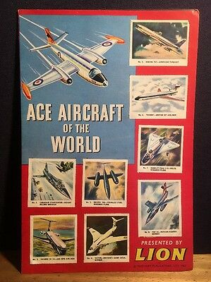 Ace Aircraft Of The World Sticker Book 1963