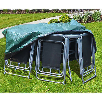 Heavy Duty Outdoor Furniture Cover - LARGE PATIO SET - ROUND - Simply Direct