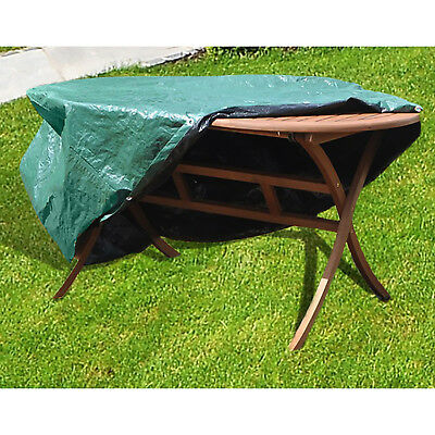 Heavy Duty Outdoor Furniture Cover - LARGE PATIO SET - OVAL - Simply Direct