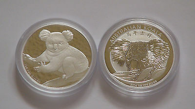 2009 and *RARE* 2014 Chinese Privy 1oz Perth Mint Silver Koala 2 COIN LOT