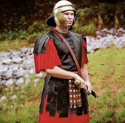 Roman Officers Leather Tunic With Skirt for Re-enactment, Stage, Costume & LARP