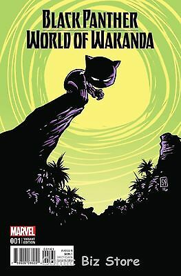 Black Panther World Of Wakanda #1 (2016) Skottie Young Baby Variant Cover