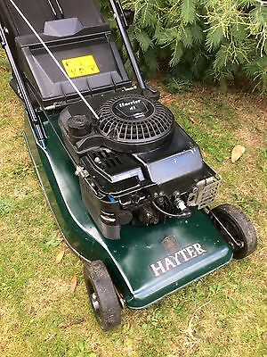 Hayter 41 Self Propelled Petrol Lawn Mower with Roller