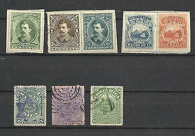 Lot de timbres ancien Costa Rica