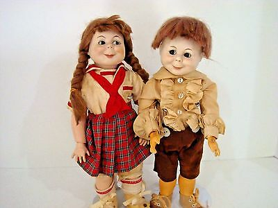 German Character  MAX & MORITZ 2 Vintage Antique Reproduction K*R Halbig 11""