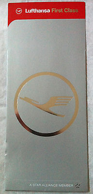 New Lufthansa Airlines First Class Ticket Holder Cover Sleeve Jacket