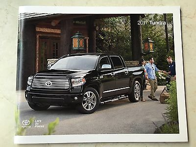 2017 Toyota Tundra 32-page Original Sales Brochure