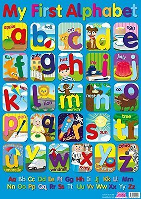 My First Alphabet - Extra Large Laminated Wall Poster