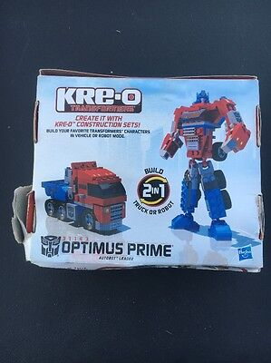 KRE-O Transformers Optimus Prime Building Action Figure Vehicle Toy #31143 NEW*