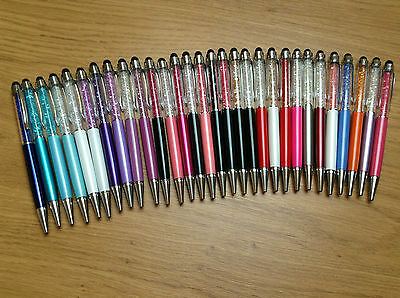 42 Colours- HIGH QUALITY Crystal 2 in 1 Stylus Pen Made with SWAROVSKI ELEMENTS!