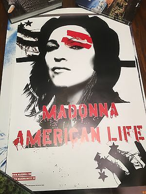 Madonna American Life Promo Poster