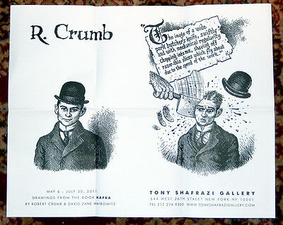 Lot R. Robert Crumb Archive Posters Gallery Exhibition Cards Clippings Ephemera