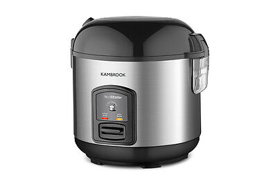 Kambrook Rice Master 5 Cup Rice Cooker & Steamer - Stainless Steel (KRC405)
