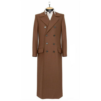 ABBY SHOT Doctor Who 10th Doctor's Coat Official Replica Tennant SZ XL