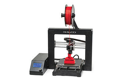 Balco 3D Printer with 4 x FREE Filaments and Print Mat