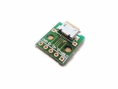 MICRO USB type B 5pin Female Socket Connector Charging Module Board Adapter
