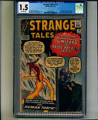 Strange Tales #110 CGC 1.5 Off-White Pages 1st appearance of Doctor Strange
