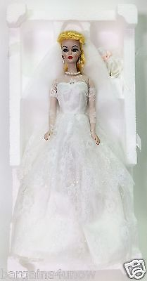 Porcelain Barbie Wedding Party 1959 Fourth In A Series Coa Shipper