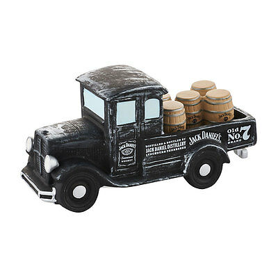 Department 56 Jack Daniels whiskey barrel delivery truck accessory 4050952