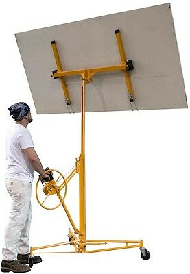 Heavy Duty Construction Steel Rolling Casters Drywall and Panel Hoist Lift Tool