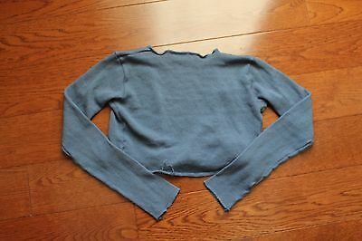 Ballet and dance warm-up top, sweater like, WendyKnits of Los Angeles