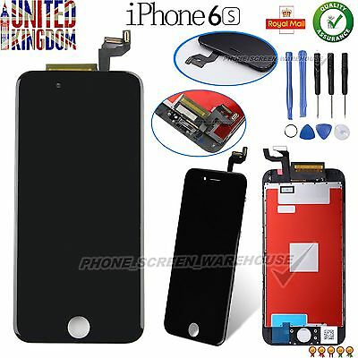 "Replacement For iPhone 6S 4.7"" LCD Touch Screen Digitizer Assembly & Frame Black"