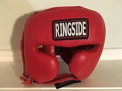 Ringside Master's Competition Headgear Large Red