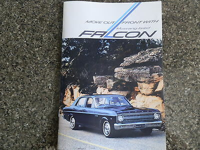 1966 Xr Ford Falcon  Brochure  Incl Fairmont.  100% Guarantee.