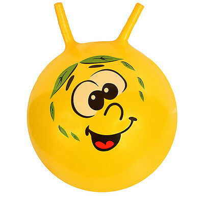 """18"""" Yellow Large Jump Bounce Ball Space Hopper Kid Outdoor Toys Creative Design"""