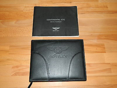 Bentley Continental GTC 2003 Owner's HandBook Leather Manual User Guide Book