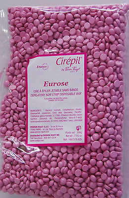 Cirepil Test Best Stripless Wax made in france 200gm Beads Eurose