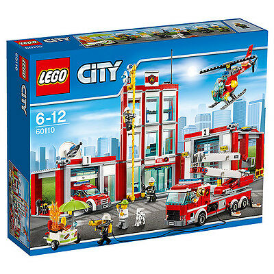 NEW LEGO CITY Fire Station 60110 Age: 6 - 12