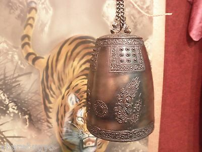 Japanese Korean Temple Bell Bronze Buddhist personal bell   Check out the VIDEO