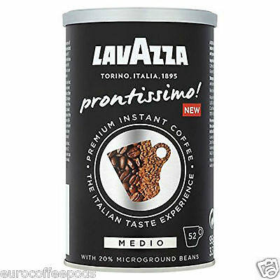 Lavazza Prontissimo Medio Tin Premium Instant Coffee 1 x 95G