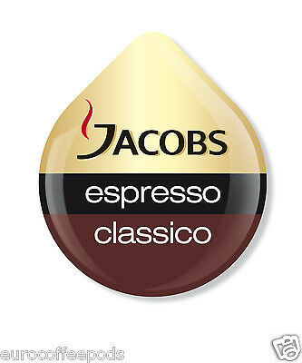 48 x Tassimo Jacobs Espresso Coffee T disc Sold Loose