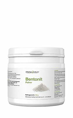 Effective Nature, Bentonit Pulver, 400g