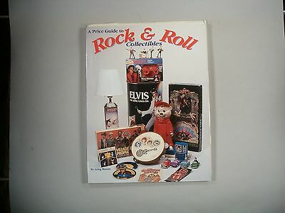 Greg Moore PRICE GUIDE TO ROCK & ROLL COLLECTIBLES Second edition book 1994