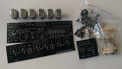 Nixie Tube clock KIT IN-12 Six Digit Tubes Date Temperature