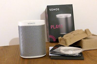 sonos play 1 lautsprecher schwarz eur 191 64 picclick de. Black Bedroom Furniture Sets. Home Design Ideas