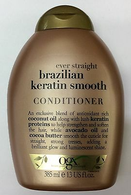 OGX Organix Ever Straight Brazilian Keratin Smooth CONDITIONER 385ml