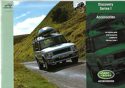 Land Rover Discovery Series 1 Accessories 2000-01 UK Market Sales Brochure