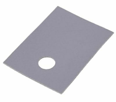 Thermally conductive pad, silicone, TO220, 0.4K/W, 18x13mm