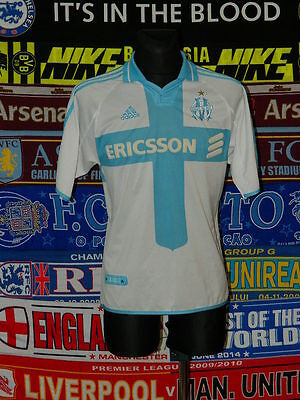 4/5 Olympique Marseille adults M 2001 football shirt jersey trikot maillot