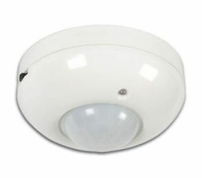 PIR Motion Detector Ceiling Mounting - 360C White