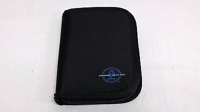 Arizona Jean Co. Wallet Credit Card Organizer Black