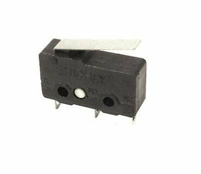 Switch:microswitch with lever SPDT 3A/250VAC ON-(ON)