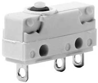 Snap switch  ON-(ON) nonfixed  3pins. 5A/250VAC SPDT 20x17.5x6.4mm