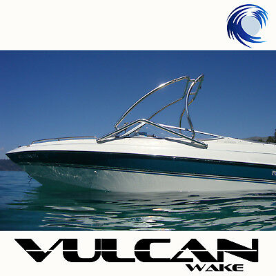 "Universal Wakeboard Tower Vulcan Vector - Polished - 2.25"" tubing"