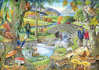 The House Of Puzzles - 1000 PIECE JIGSAW PUZZLE - Riverside Walk
